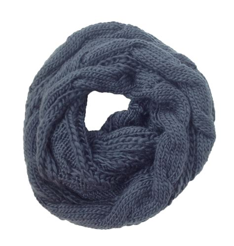 cable knit infinity scarf pattern cambridge classic cable knit infinity scarf grey