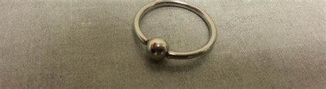 how to remove a captive bead ring captive bead ring removal the axiom piercing studio
