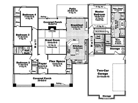 house plans 2400 square craftsman style house plan 4 beds 2 50 baths 2400 sq ft