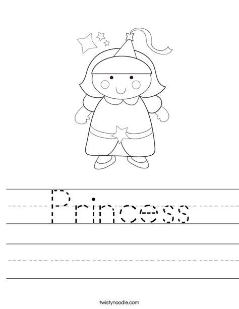 for printables princess worksheet twisty noodle