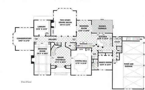 luxury mansion floor plans mansion floorplans home planning ideas 2018