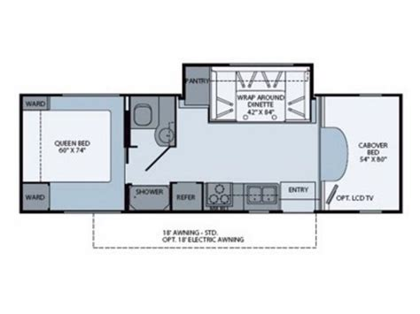 tioga rv floor plans fleetwood tioga rv floor plans
