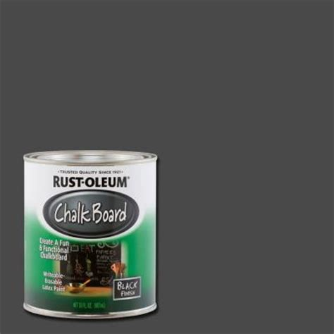 chalkboard paint rustoleum colors rust oleum specialty 30 oz flat black chalkboard paint