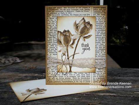 vintage card ideas create a vintage look for your cards with sponging
