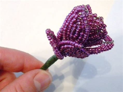 beaded flower beaded flower tutorial for your beaded floral bouquet