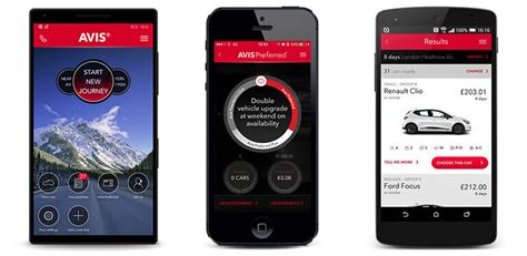New Car Apps For by Car Hire On The Move With The Avis Car Hire Apps