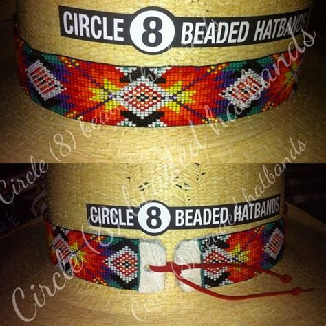 circle 8 beaded hat bands 17 best images about circle 8 beaded hatbands on