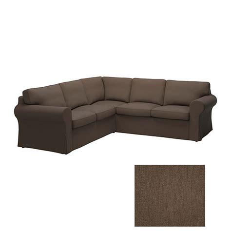 corner sofa slipcover ikea ektorp 2 2 corner sofa cover slipcover jonsboda brown