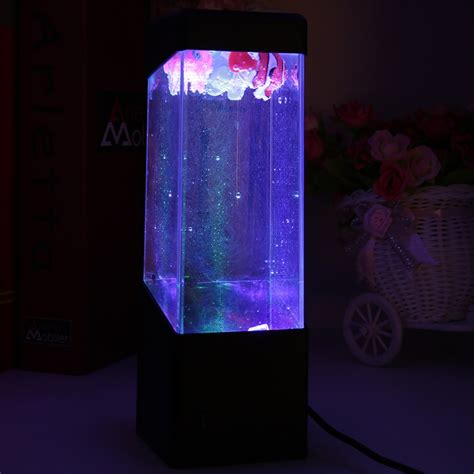 water led lights sea world led glow novelty water tank led light l