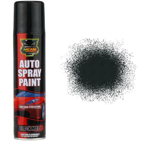 disaster spray paint x 17 x 250ml matt black aerosol spray cans cars vans auto