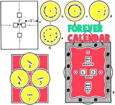 calendar craft for calendar crafts for ideas to make your own calendars