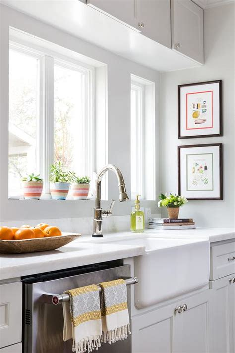 white knobs for kitchen cabinets marble octagon tile transitional kitchen