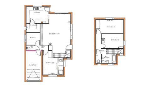 Garage Plans With Carport maison traditionnelle 224 233 tage 108 m 178 3 chambres