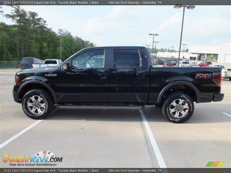 2012 Ford F150 Fx4 by 2012 Ford F150 Fx4 Supercrew 4x4 Tuxedo Black Metallic
