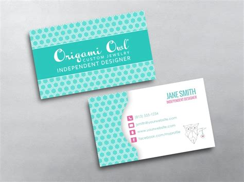 business card origami origami owl business cards free shipping
