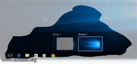 windows 10 ajouter un bureau virtuel