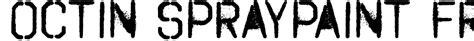 spray paint font ttf octin spraypaint free font