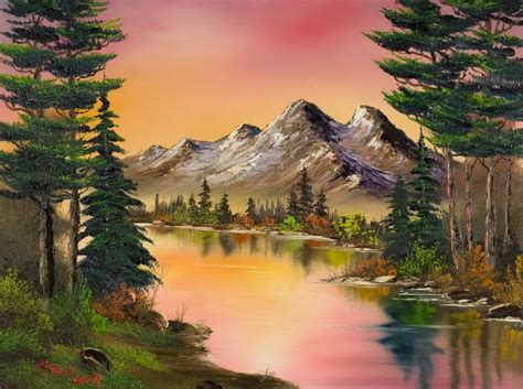 bob ross paintings for sale bob ross autumn paintings bob ross autumn