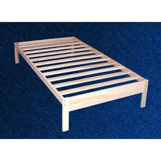 unfinished platform bed frame greenhome123 unfinished solid wood platform bed frame in