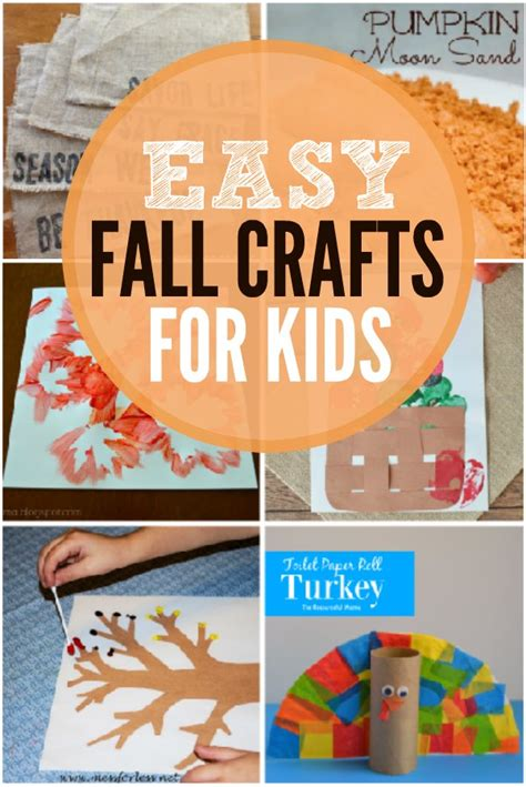 fall craft projects for toddlers fall crafts for and easy fall crafts for