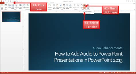how to insert add to powerpoint presentations in powerpoint 2013