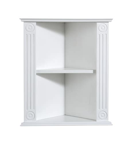 white bathroom shelves white wooden shelves with two shelves triangle