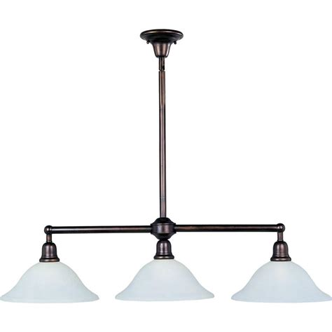 bronze pendant lights for kitchen maxim lighting bel air 3 light rubbed bronze pendant