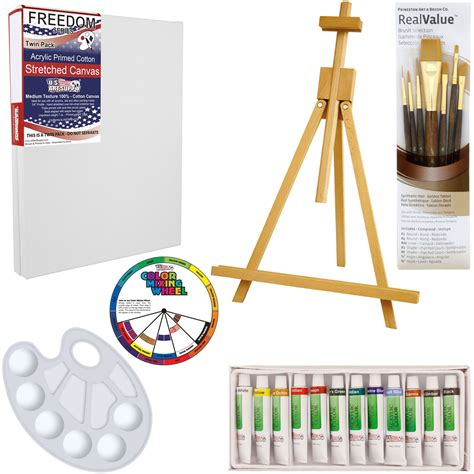 acrylic painting materials us supply 21 acrylic painting set with table