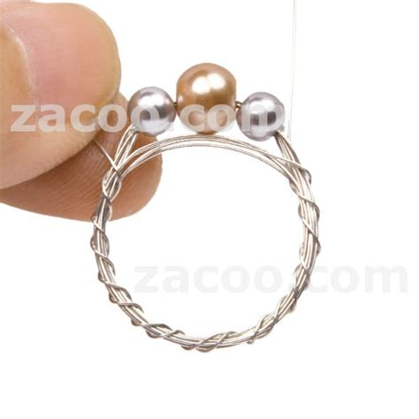 wire for jewelry projects wire wrap ring in rope figure7 wire jewelry ideas