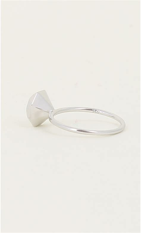 origami wedding ring origami silver quot quot ring mondefile