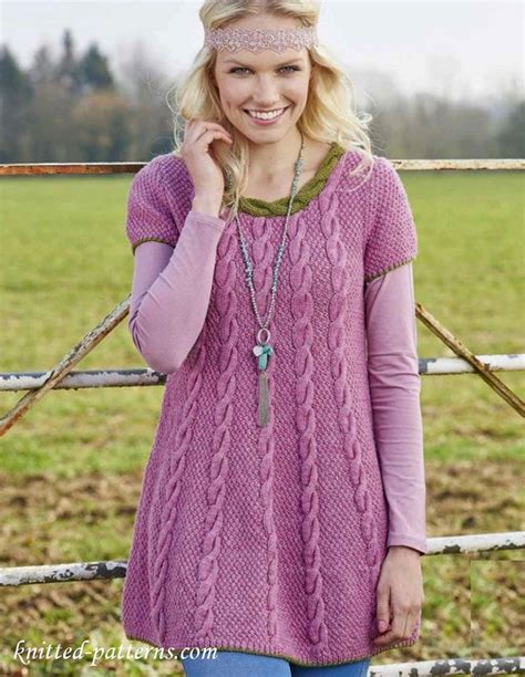 knit dress pattern free 92 best images about knitting tunics and dresses on
