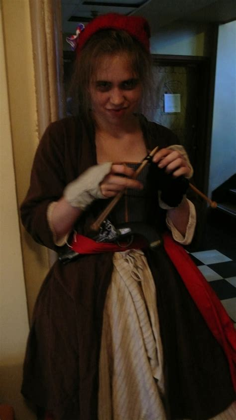 knitting in tale of two cities madame defarge i by goldenspring on deviantart