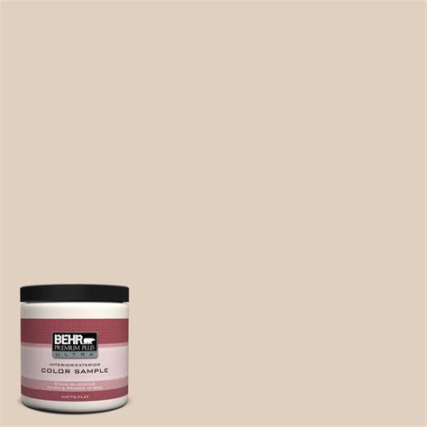 Behr Premium Plus Ultra 8 Oz N240 2 Adobe Sand Interior