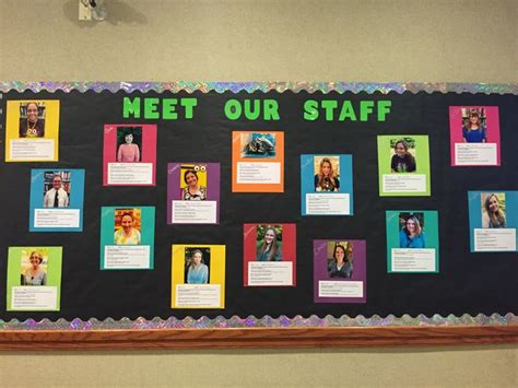 ideas for staff 25 best ideas about staff bulletin boards on