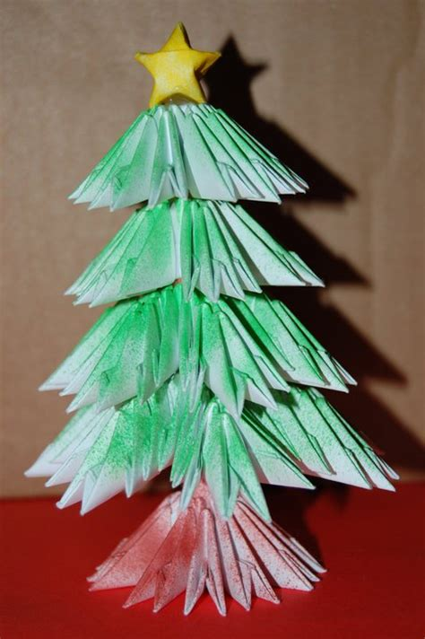 origami 3d tree 3d origami tree by origami on deviantart