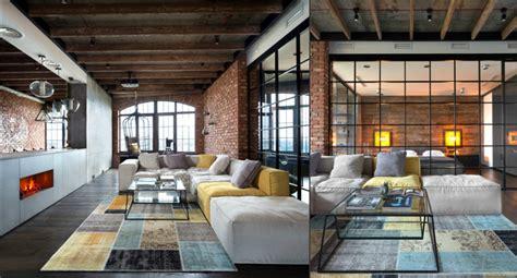 loft style living room spacious loft style studio home interior design kitchen