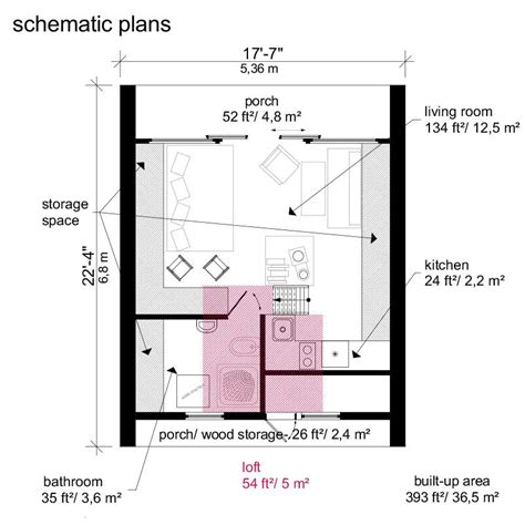 a frame cabin floor plans a frame tiny house plans