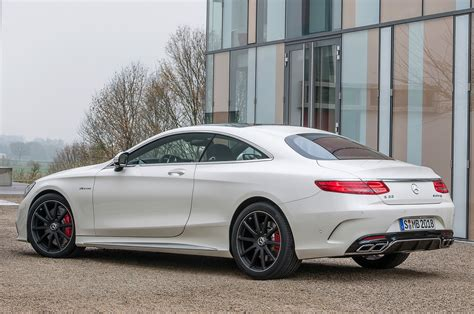 2015 Mercedes S63 by 2015 Mercedes S63 Amg 4matic Coupe Rear Side View