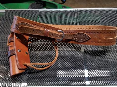 leather gun belt and holster armslist for sale leather gun belt and holster