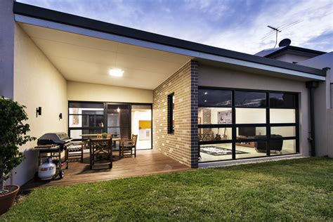 design house inside out house decorated in brick veneer inside and out modern