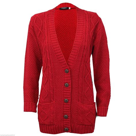womens chunky knit cardigan womens chunky cable knit cardigan button