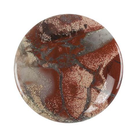brecciated jasper brecciated jasper gemstone cabochon 35mm