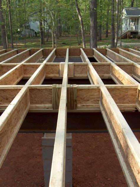 how to frame a floor house floor framing how to build a house