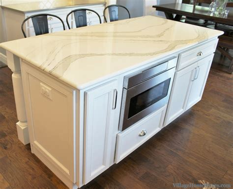 kitchen island with microwave coal valley il kitchen with family friendly farmhouse style
