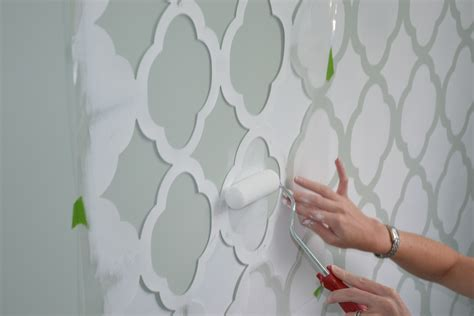 wall stencils for painting rooms nursery stencil kickittogether