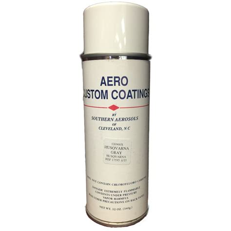 spray paint specification husqvarna gray touch up spray paint 532126966 12oz can ebay