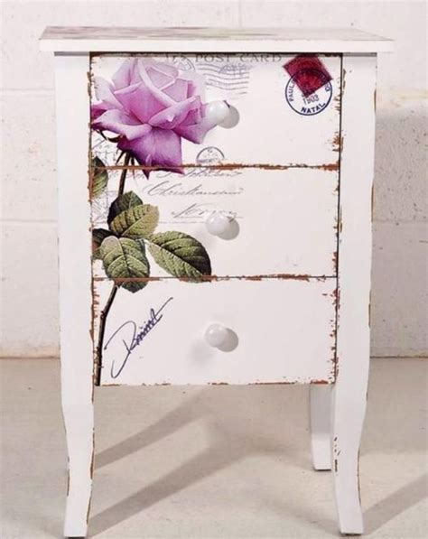 ideas for decoupage on furniture 39 furniture decoupage ideas give things a second