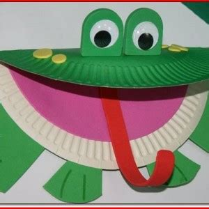 paper plate frog craft frog paper plate craft template project edu
