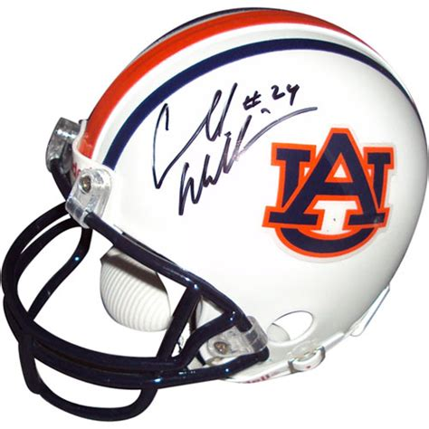 Carnell Cadillac Williams by Carnell Quot Cadillac Quot Williams Autographed Auburn Tigers Mini