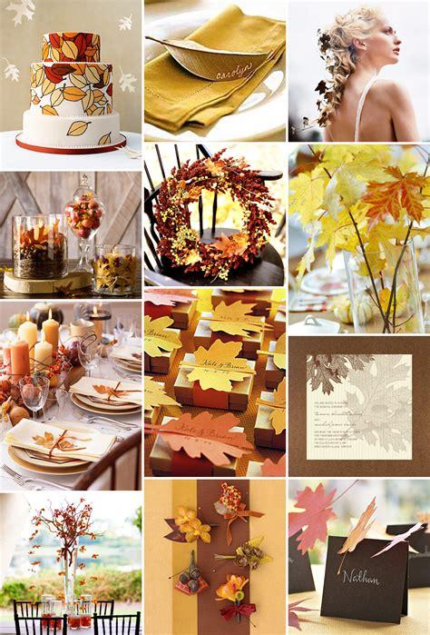 ideas for fall autumn wedding ideas autumn weddings pics
